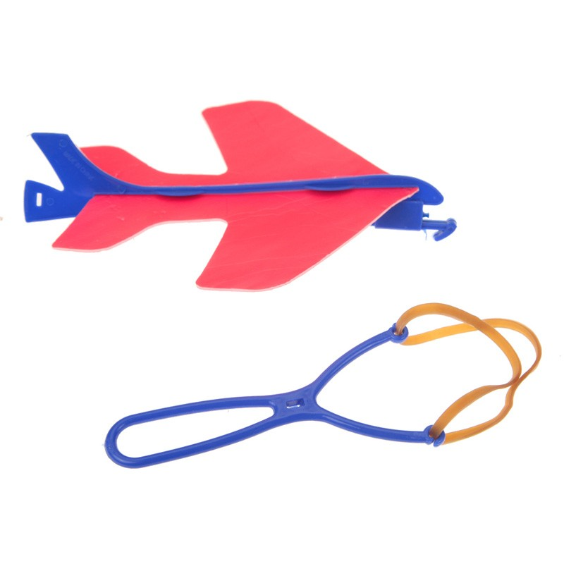 Mini DIY Children Hand Throwing Flying Mild Plane Airplane Glider Toys