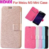 For Meizu M3 Mini Case Luxury Flip Leather Case For Meizu M3 Mini Cover Phone Cases With Card Slots Stand Holster
