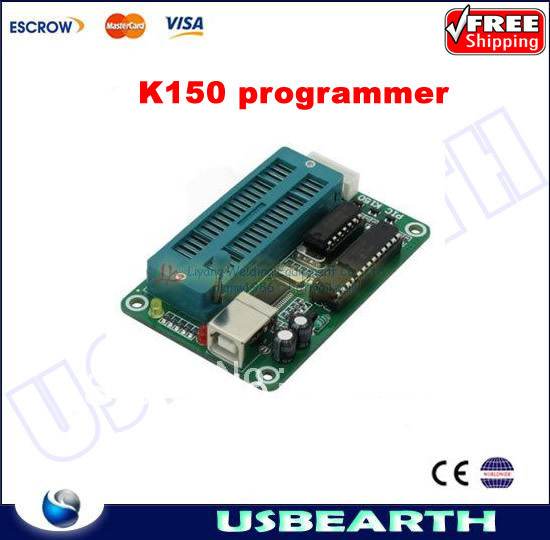 Freeshipping! PIC K150 ICSP Programmer USB Automatic Programming Develop Microcontroller(China (Mainland))