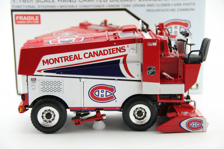 rare 1:18 NHL Zamboni 500 Ice surface care cleaning car Alloy snowplow model Favorite Model