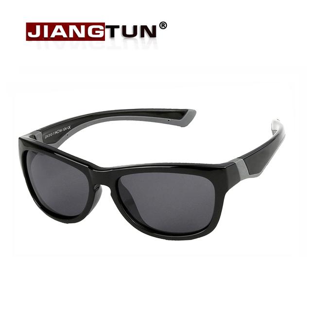 JIANGTUN Детские Солнцезащитные Очки Мальчики Прохладный Защитные Очки UV400 Защиты Очки Для Детей Вне Google Óculos Infantil