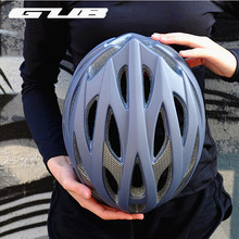 Buy GUB DD Big Size Ultralight Cycling MTB Mountain Road Racing Bicycle Bike Helmet Integrally-molded Visor EPS+PC 28 air vents for $39.60 in AliExpress store