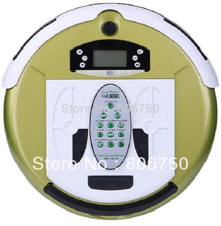 (Good News For Russian Buyer) 4 In 1 Multifunctional Robot Vacuum Cleaner (Auto Recharged,Remote Controller, UV ligths,LCD)(China (Mainland))