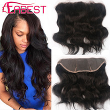 7A Cheap Virgin Hair Full Frontal Lace Closure 13×4 Brazilian Human Hair Body Wave full lace frontal closure With Baby Hair