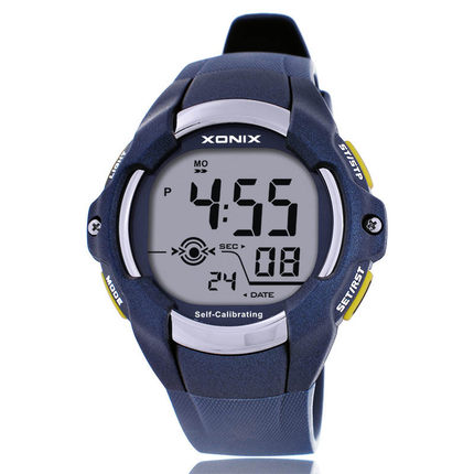 XONIX intelligent Self Calibrating Internet Timing Men Sport Watch 100M Waterproof Digital Watch Diving Wristwatch Montre Homme(China (Mainland))