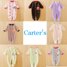 Autumn Winter Carters Other Brand Animal Baby Romper Fleece Body Baby Overalls for Toddler Jumpsuit New