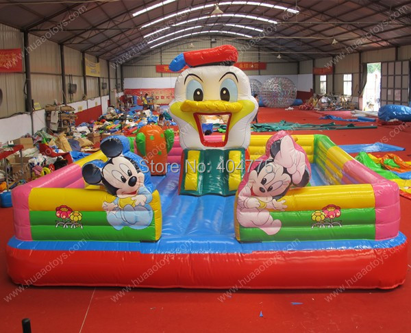 Commercial jumping inflatable castle micky mouse jumper inflatable playground for sale(China (Mainland))
