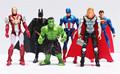 The Avengers Figures Super Hero Toys Doll Baby Hulk Captain America Superman Batman Thor Iron Man