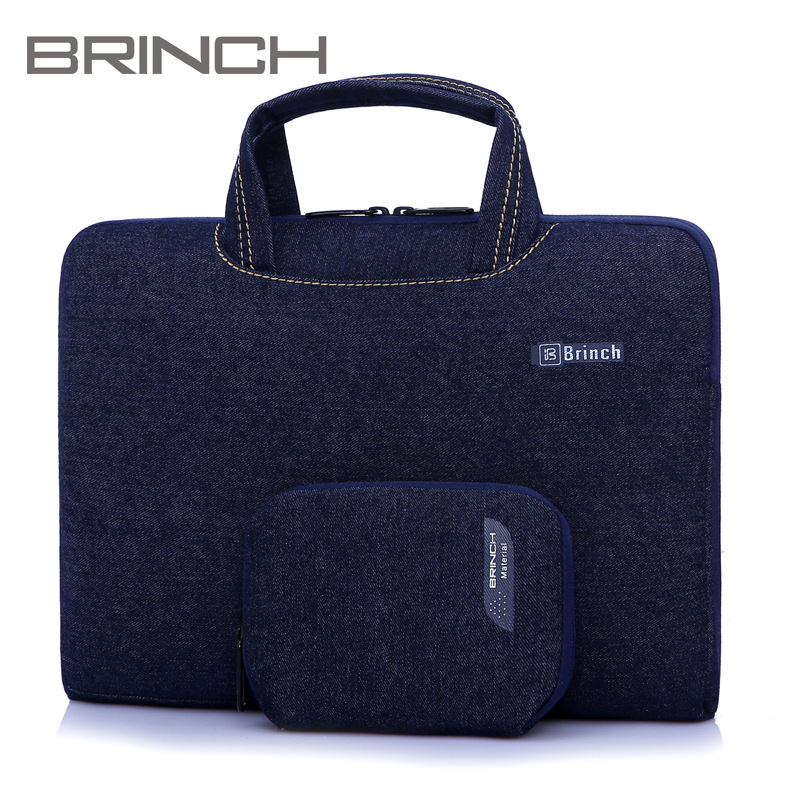 Free shipping Genuine Laptop Handbag Sleeve Cover Digital Storage Waterproof Laptop Bags Send Accessories Bag 13/14/15 inch(China (Mainland))