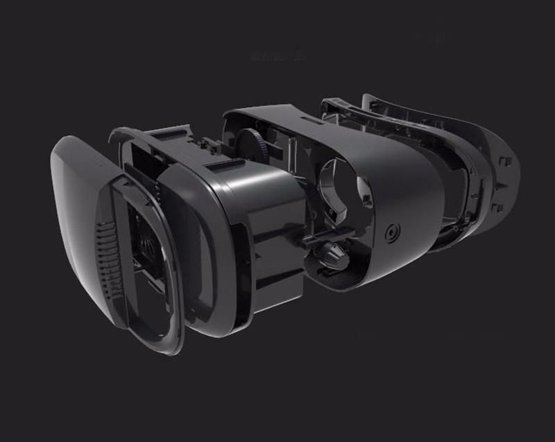 ถูก Xiaozhai z3 bobovr vrกล่อง3d googleแว่นตาvrความจริงเสมือน3dแก้วสำหรับ4 ~ 6มาร์ทโฟนกระดาษแข็ง+บลูทูธควบคุม