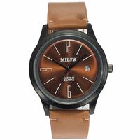 Analog Date Men's Quartz Wrist Watches Luxury Brand Retro Business Casual Sports Men Watch Leather Wristwatches Orologio Uomo