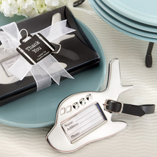 25pcs/lot Wedding Favors Airplane Luggage Tag Brith Shower Favors Luggage Tags(China (Mainland))
