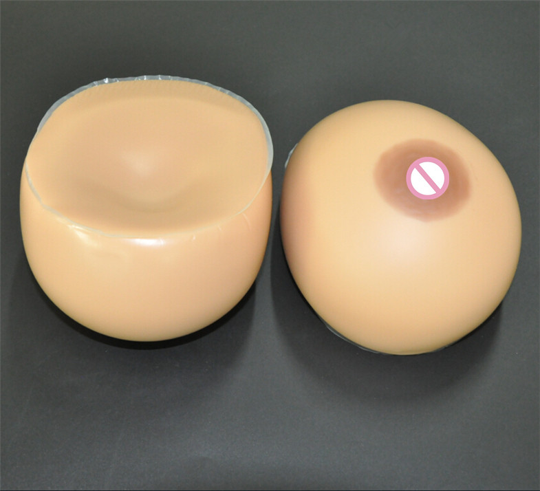 Фотография Silicone Breast  2000g/pair Brown Breast Forms Drag Queen Transgender Boobs False Breasts