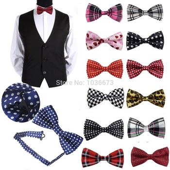 1pcs Convenient Adjustable Men's Adult Commercial Marriage Unique Elastic Multicolor Bowtie Tuxedo Party Bow Tie Necktie YJB0002
