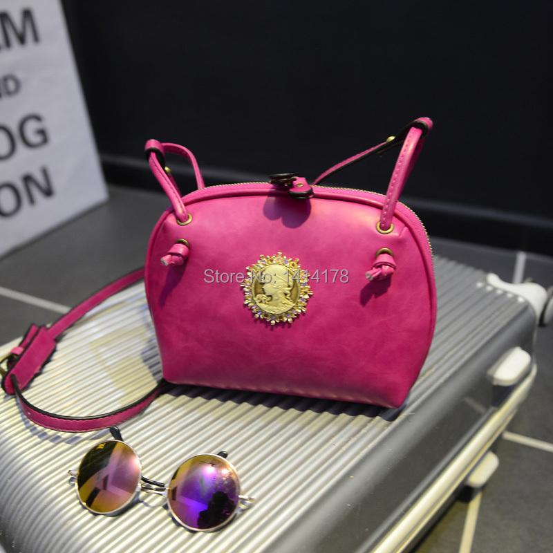 fashion European American style shell bag Vintage Small Bag Shoulder Mini messager  -  Shenzhen AZ trading Co., Ltd store