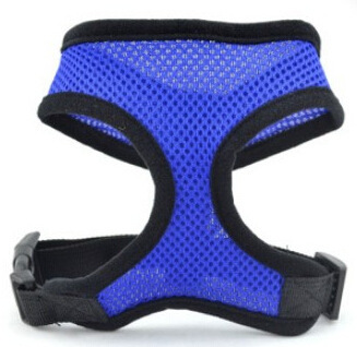 Best Selling Nylon Mesh Vest Harness for Dogs Puppy Cats Pets Soft Air Small Dog Harness