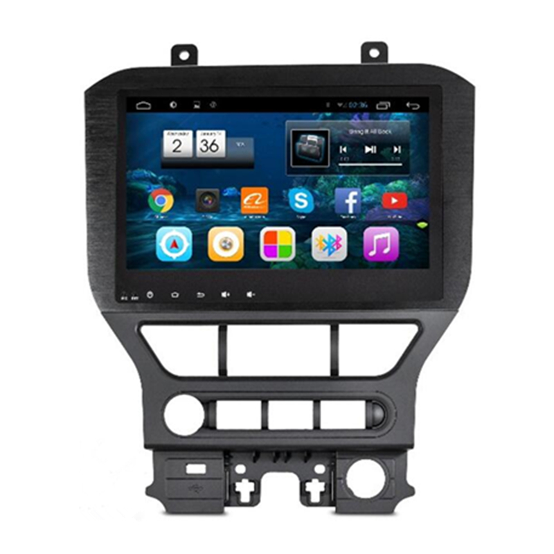 """10.2"""" Android 4.2.2 1024X600 Car Stereo Audio Autoradio Head Unit Headunit for Ford Mustang 2015 3G WIFI dvr Bluetooth Handsfree(China (Mainland))"""