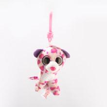 """Ty Unicórnio Animais Cão Do Leopardo Tartaruga Peixe Chaveiro Girafa de Pelúcia Boneca Animais Presente da Criança Brinquedo 4 """"10 cm(China)"""
