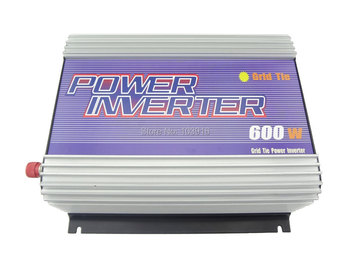 600W grid tied Inverter (DC22V-60V to 110VAC), for PHOTOVOLTAIC system, MS-SUN-600G-22A