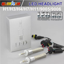 Buy Car light bulb 80W 9600LM Led Car Auto Headlight H7 H1 H3 H11 9005 9006 5202 White Bulb Automotives Headlight Fog lamp DRL for $37.80 in AliExpress store