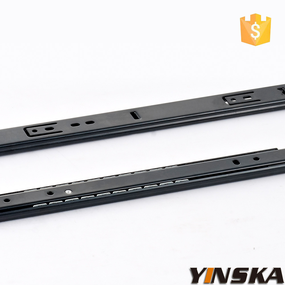 ikea sikai nylon wheel drawer slides soft closing drawer slide shipping free(China (Mainland))