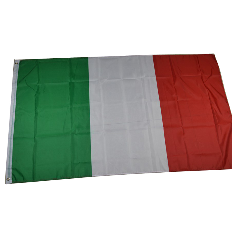 High quality Italy flag 3X5ft cheaper 90*150cm polyester <font><b>Italian</b></font> national flag indoor banner <font><b>home</b></font> <font><b>decor</b></font> outdoor flag and banners