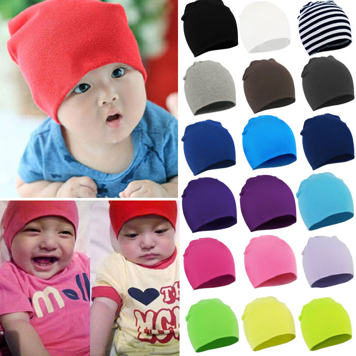 2015 New winter summer Unisex Newborn Baby Boy Girl Toddler Infant Cotton Soft Cute baby Hat