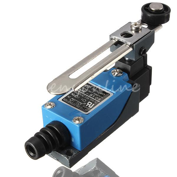 ME 8108 Rotary AC380V 6A 250V 10A Adjustable Waterproof Momentary Limit Switch Arm Yype Roller Lever