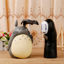 Cute Lovely My Neighbor Totoro Cat Bus Piggy Bank Totoro Piggy Bank PVC Action Figure Collectible Toy Doll(China (Mainland))