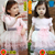 Free shipping!2015 Princess Long sleeve 6 layers Girl Tutu Dress
