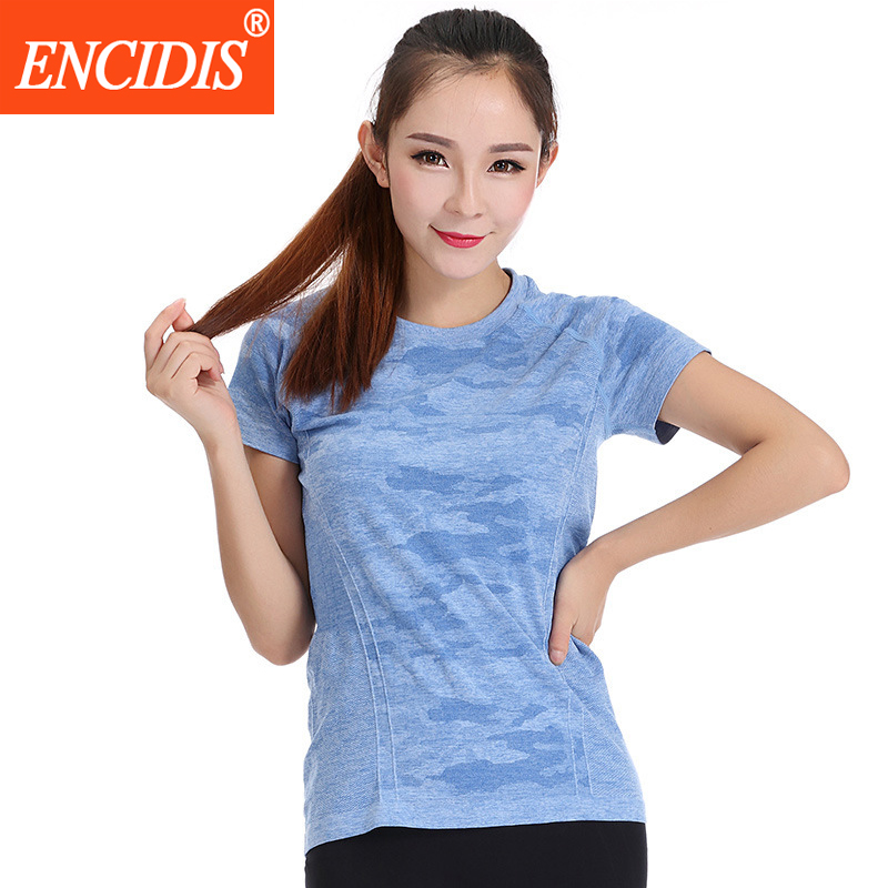 3 Colors 2016 New women sport shirt Summer fitness short sleeve T-shirt Female Gym Running shirts Quick Dry Lady Tees Y183(China (Mainland))