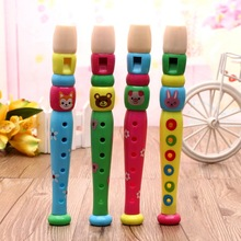 1PC  2016 New Well Designed Plastic Kids  Flute Toys Baby Musical Instruments Early Learning Education  Toy  for Children(China (Mainland))