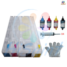 2016 New Hisait ink New For HP 970 971 Empty Refillable Ink For HP Officejet Pro