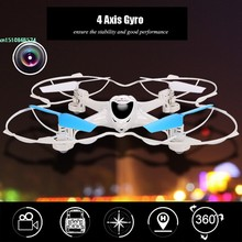 New X300C 2.4G 4CH 6-Axis RC Quadcoptepr FPV Real-time Video Drone Headless Mode 0.3MP Camera 66