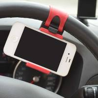 High Quality Universa Car Steering Wheel Bike Clip Mount Holder Car Phone Holder For cell phone/ iphone /Samsung /GPS Selfie