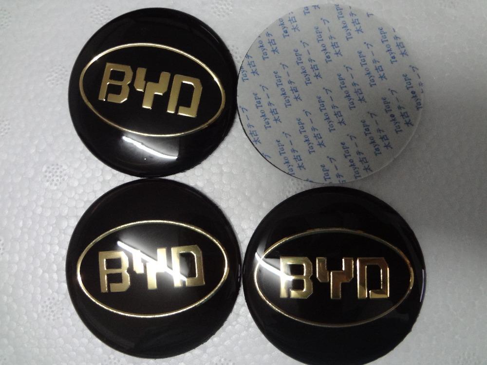 4Pcs for BYD F3 F3R L3 G3 G5 G3R F6 S6 S8 E6 M6 New 56.5mm Wheel Center Hub sticker Caps Cars Wheel Center Hub Cover Resin NEW(China (Mainland))