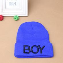 Toddler Baby Girl Boy Winter BOY Skull Hat Warm Beanie Caps Woolen Ski Hats(China (Mainland))