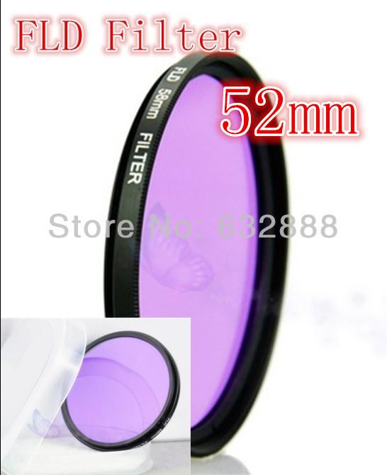 Фильтр для фотокамеры Rainr 52 52 FLD Nikon D5200 D5100 D5000 D3000 D60 18/55 Canon 3  52mm вспышка для фотоаппарата nikon speedlight sb 5000 sb 5000