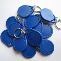 13.56Mhz NFC Tag MF S50 1k F08 IC Keyfobs ISO14443A Readable And Writeable Card Use ABS Material