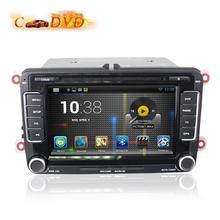 Quad Core 7 inch Android 5.1 Car DVD Player GPS VW Volkswagen Scirocco Golf C6 Polo Passat B6/CC Jetta Tiguan Touran Sharan Leon - World Co. Ltd store