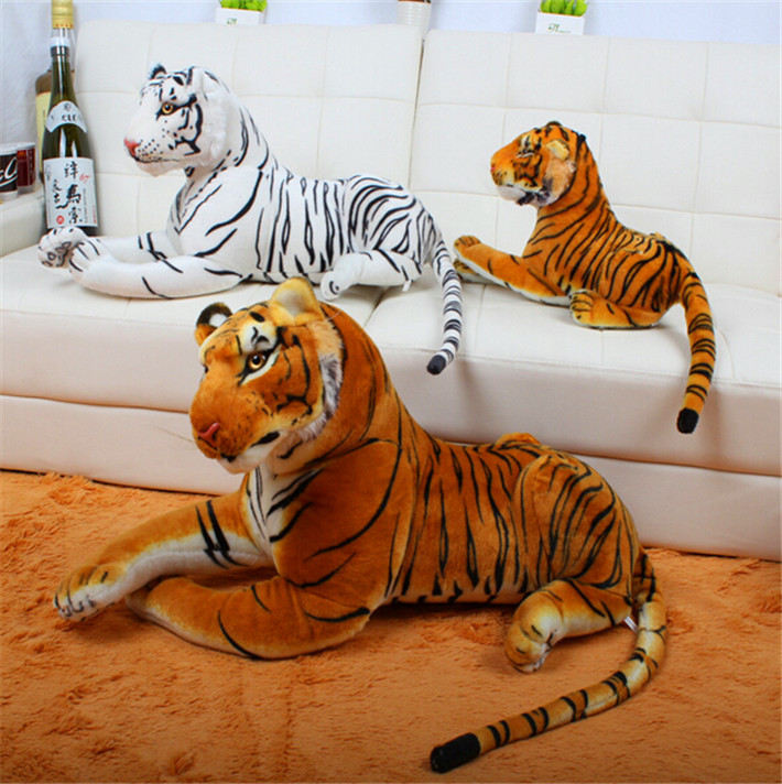 2015 NEW CHIC! Hot Sale Simulation Tigers Plush Toys for Children Free Shipping(China (Mainland))