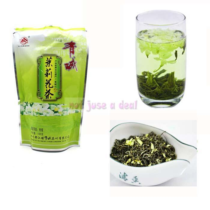 Special Grade 100g Natural Flower Tea Scented Jasmine Chinese Tea