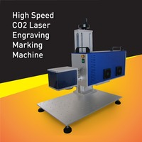 High Speed RF 30W CO2 laser wood engraving machine adopt USA Synrad laser tube,accuracy engraver ,Long Work Life
