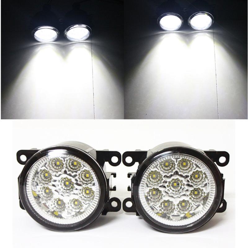 for Car styling front bumper high brightness LED Fog lights TOYOTA AYGO WNB1_ KGB1_  Hatchback  2005-2009 car led fog lamps 1set