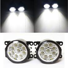 for TOYOTA AYGO WNB1 KGB1 Hatchback 2005 2009 Car styling LED Fog Lamps DRL Fog Lights