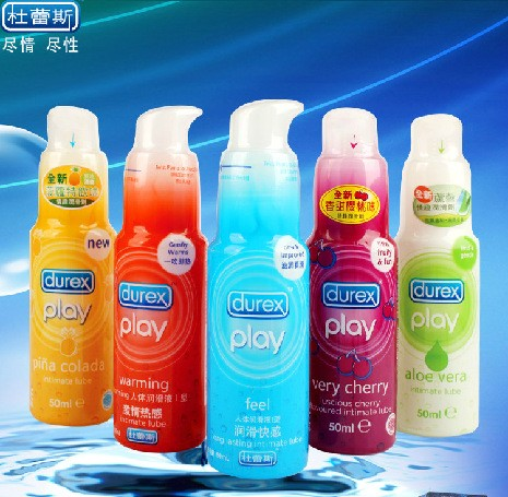 3pcs Genuine Sex Durex lubricant for sexual oil female vaginal orgasm excited male masturbation sex products Free shipping(China (Mainland))