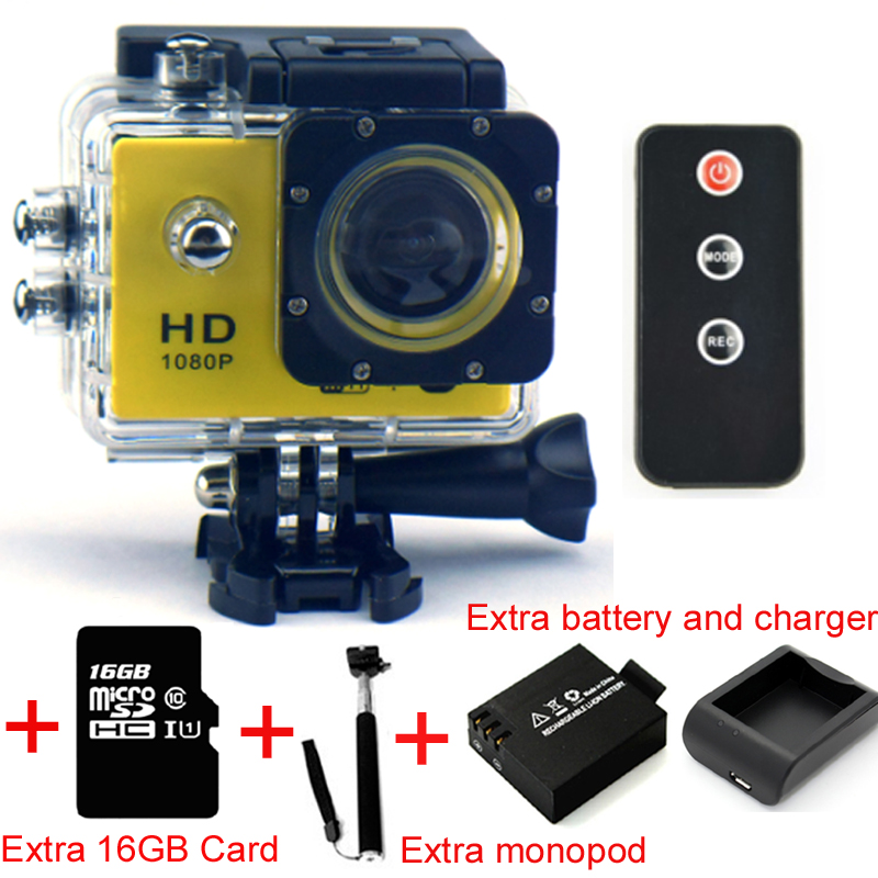 SJ7000 Wifi 30M Water Proof 2 Inch Digital Camera 1080P Full HD Sports Skydiving Diving Helmet Action Camcorder Cameras(Silver)