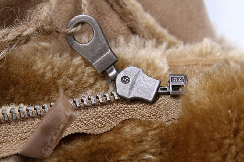 suede leather khaki 09