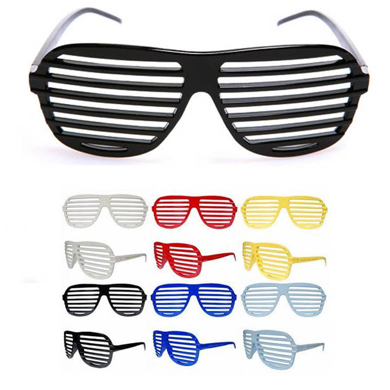 Eyeglasses Shutters Blind Shades Oval Glasses Novelty Party Fancy Dress(China (Mainland))