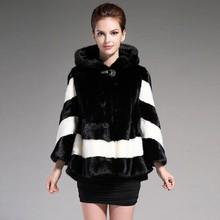 Genuine Leather Winter Fashion High Quality Whole Mink Fur Coat Women Import Leisure Shitsuke Mustela Vison Schreber Coat(China (Mainland))
